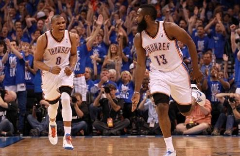 НБА. Оклахома сокращает отставание