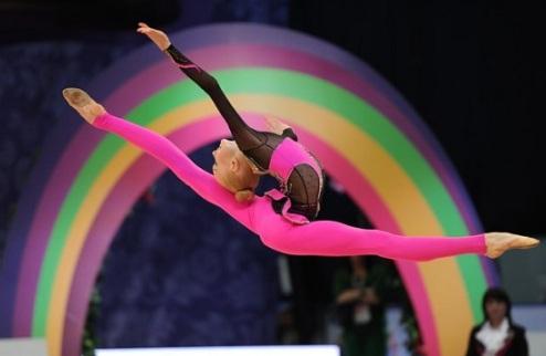 ЧЕ. Художественная гимнастика. Анастасия Мульмина берет бронзу. ВИДЕО