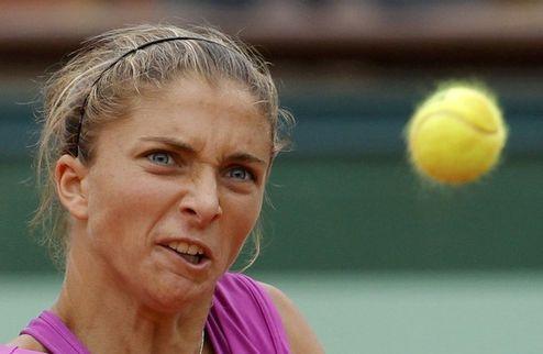 Ролан Гаррос (WTA). Эррани вышла в полуфинал