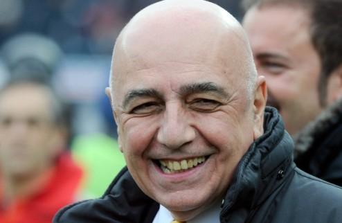 """Галлиани: """"Ибрахимович и Силва на 99,9% останутся в Милане"""""""