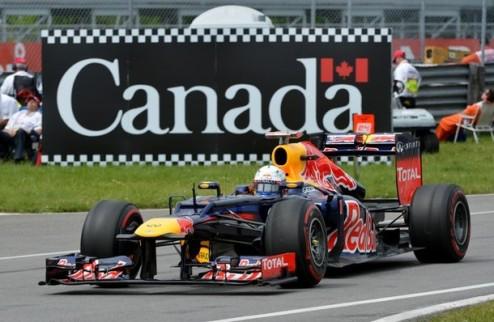 """Формула-1. Гран-при Канады. """"Ностальгический"""" поул Феттеля"""