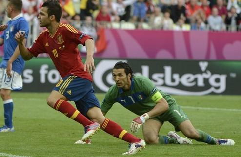 Боевая ничья Испании и Италии + ВИДЕО