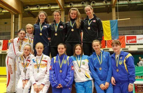 Фехтование. Сборная Украины завоевала бронзу в Генте