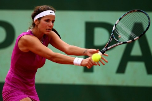 Бад Гаштайн (WTA). Корне победила, Гергес уступила