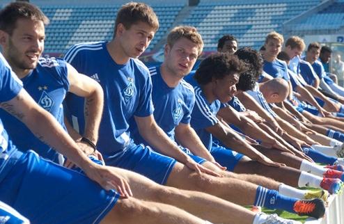Динамо провело первую тренировку в новом сезоне