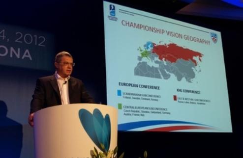 Президент КХЛ настаивает на создании единой европейской лиги