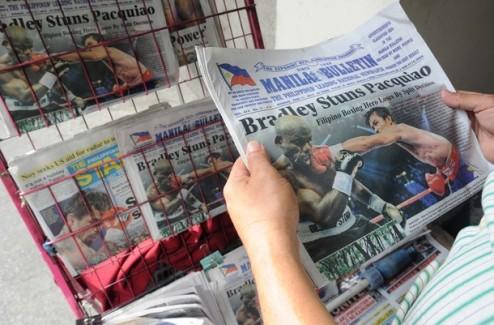 WBO проведет проверку результата боя Паккьяо-Брэдли