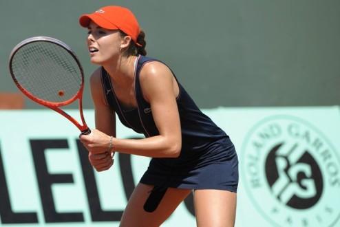 Бад Гаштейн (WTA). Корне и Первак вышли в третий круг
