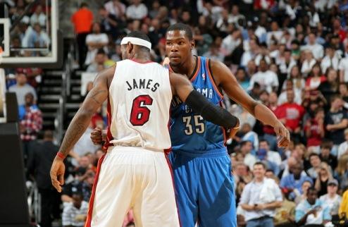 Джеймс помогал Дюранту освоиться в НБА