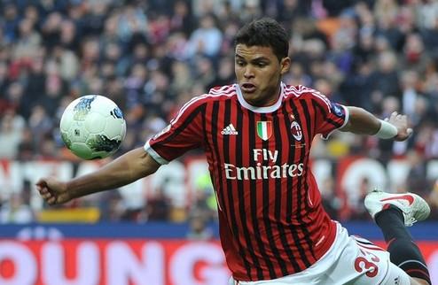 Официально: Тиаго Силва остается в Милане