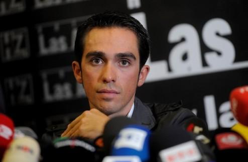 Велоспорт. Очки Контадора не будут идти в зачет Saxo Bank