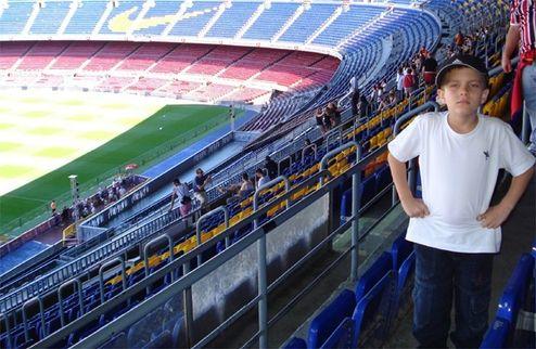 Шестилетний бразилец будет играть за Барселону