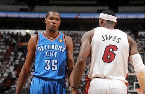 НБА. Хит повели в серии с Оклахомой