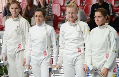 Украинские саблисты без наград на чемпионате Европы