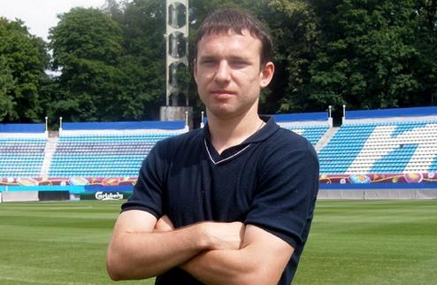 Андрей Богданов — игрок киевского Динамо
