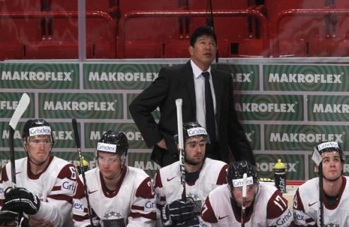 Нолан продолжит работу со сборной Латвии