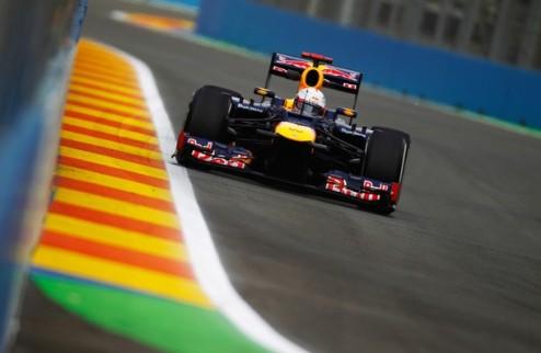 Формула-1. Гран-при Европы. Феттель — быстрейший во второй практике
