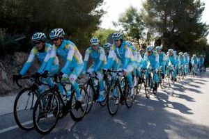 Велоспорт. Астана объявила состав на Тур де Франс