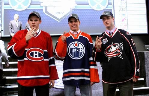 НХЛ. Драфт-2012: Якупов первый, обилие защитников в топ-10