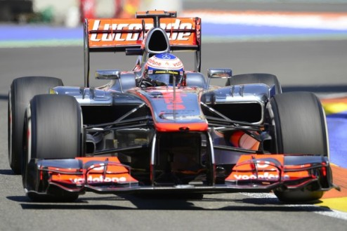 Формула-1. Гран-при Европы. Баттон побеждает в третьей практике