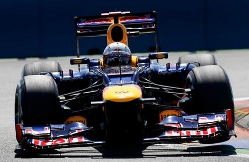 Формула-1. Гран-при Европы. Поул Феттеля, неудачи Алонсо и Шумахера