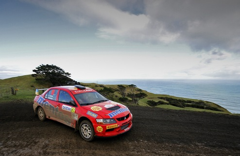 Mentos Ascania Racing ���������� ������ �� Brother Rally New Zealand
