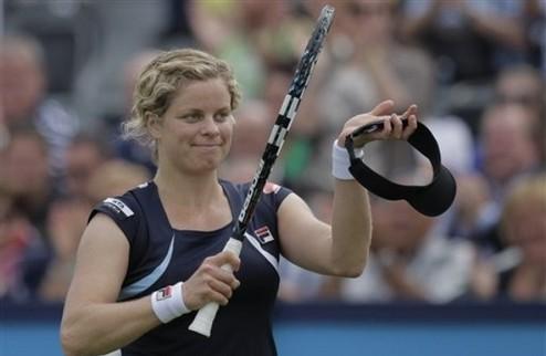 """Клийстерс: """"Я уже слишком стара для тенниса"""""""