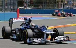 """Формула-1. Мальдонадо: """"Хэмилтон хотел выпихнуть меня с трассы"""""""