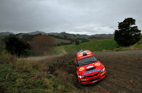 Mentos Ascania Racing ���������� �� Brother Rally New Zealand