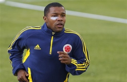 Парма подписала форварда сборной Колумбии