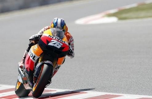 MotoGP. Гран-при Нидерландов. Педроса побеждает в последней тренировке