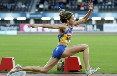 Легкая атлетика. ЧЕ. Саладуха — чемпионка Европы!