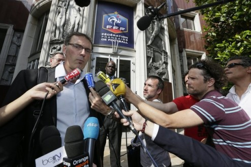 L'Equipe: Блан покидает сборную Франции