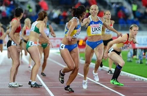 Легкая атлетика. ЧЕ. Красивая эстафетная победа украинок, бронза Семеновой
