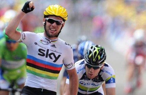 Тур де Франс. Кэвендиш переиграл Грайпеля