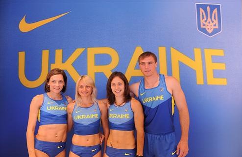Украинские легкоатлеты получили новую форму
