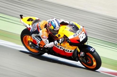 MotoGP. Гран-при Германии. Педроса выигрывает первую практику