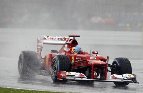 Формула-1. Гран-при Великобритании. Поул Алонсо, успех Шумахера, неудача Хэмилтона