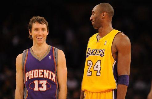 НБА. Брайант рад играть вместе с Нэшем