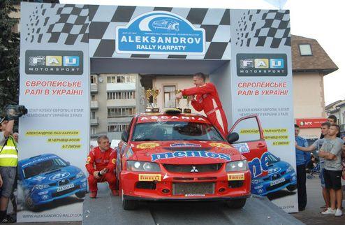 "Mentos Ascania Racing заехала на подиум ""Александров Ралли Карпаты"""