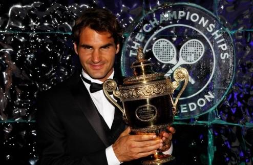 Рейтинг АТР. Федерер вновь на вершине, Долгополов — девятнадцатый