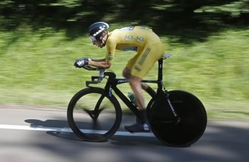 Тур де Франс. Виггинс и Фрум добивают конкурентов