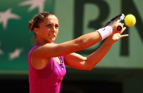 Палермо (WTA). Эррани идет дальше, Ивахненко вылетает
