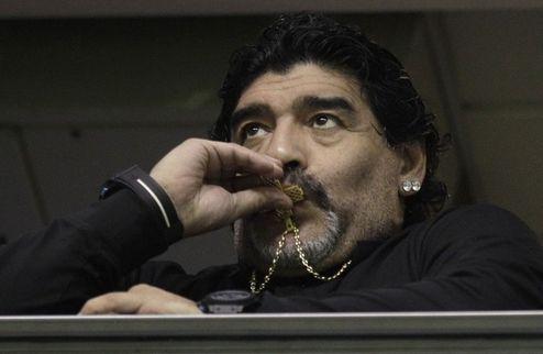 Марадона отправлен в отставку