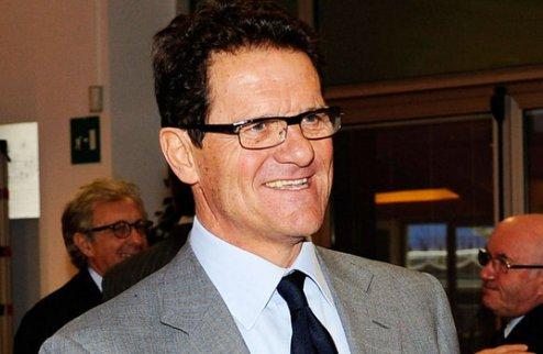 Капелло будет зарабатывать 10 миллионов евро в год