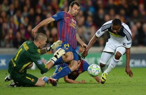 Маскерано продлит контракт с Барселоной
