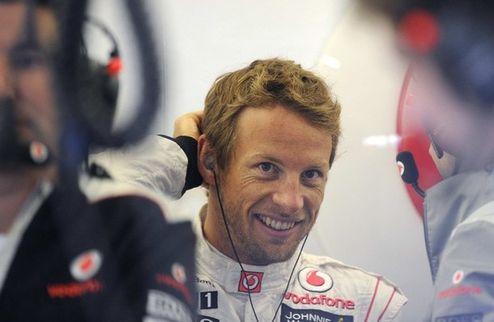 Формула-1. Гран-при Германии. Баттон выигрывает первую практику