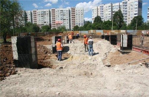 В Луганске строится ледовый дворец