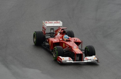 Формула-1. Гран-при Германии. Алонсо — быстрейший в третьей практике