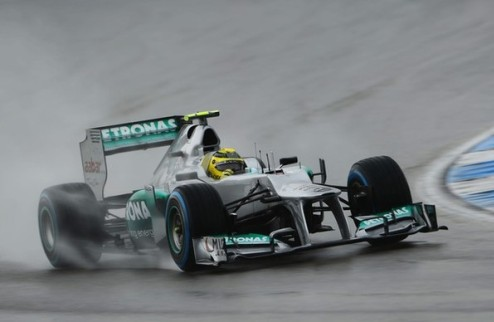 Формула-1. Мерседес жалуется на проблемы с шинами